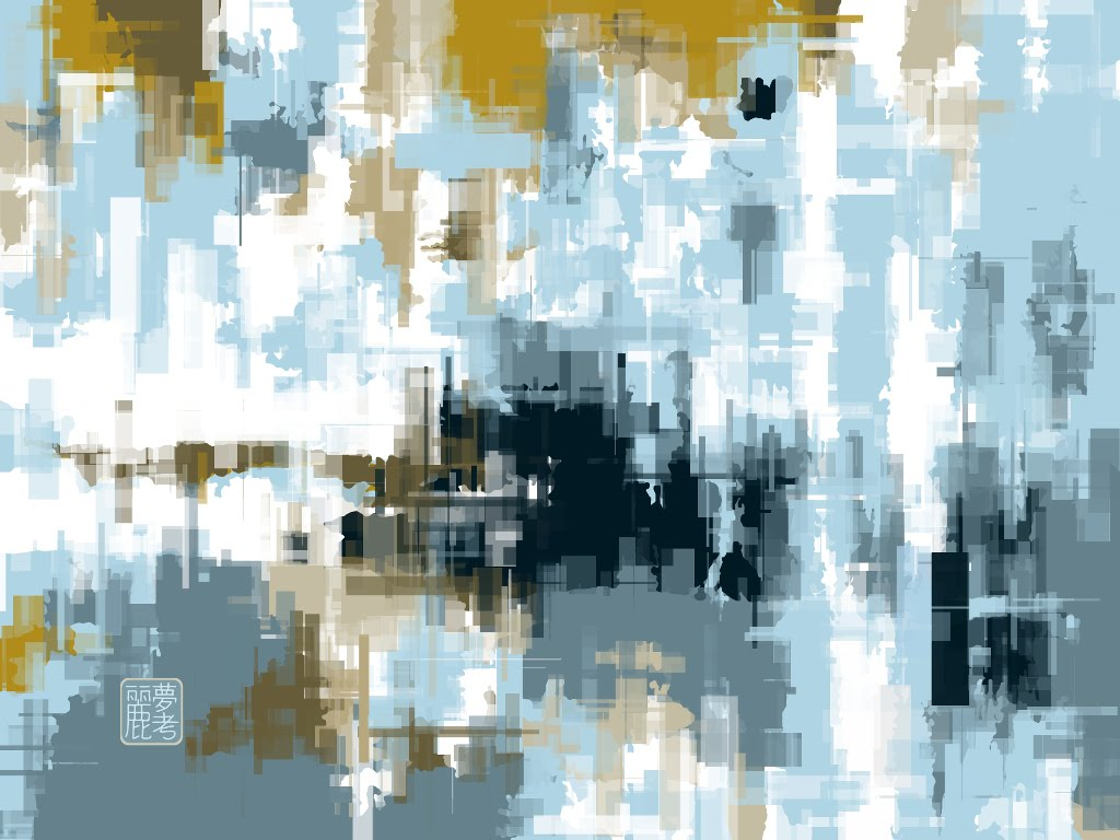 Abstract No9b by Remco Teunen, 2017